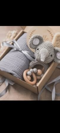 Hello World Elephant Gift Hamper